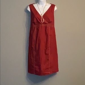 Motherhood Maternity Red Tieback Dress Size M